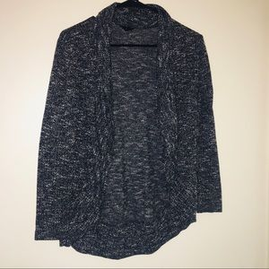 Mixed Tone Cardigan in High Low Style